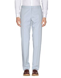 Frankie Morello Casual Pants Sky Blue