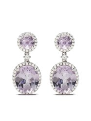 Kiki Mcdonough 18Kt White Gold Signatures Lavender Amethyst And 60