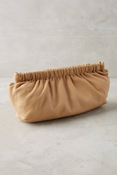 Anthropologie Soo Clutch Sand