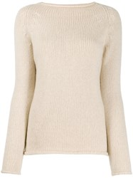 Forte Forte Bluette Knit Jumper Neutrals