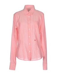 Murphy And Nye Shirts Salmon Pink