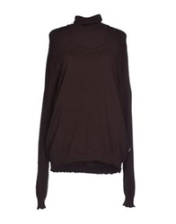 Just Cavalli Turtlenecks Dark Brown