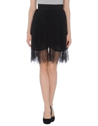 Francesco Scognamiglio Knee Length Skirts Black
