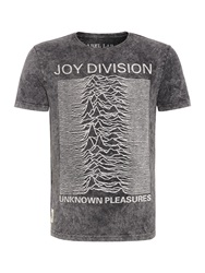 Label Lab Joy Division Graphic Tee Black