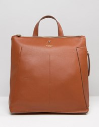 Fiorelli Finley Casual Zip Top Backpack Tan Brown