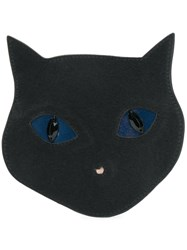 Paul Smith Ps By Cat Face Coin Purse Black