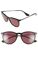 Men's Ray Ban 'Erika' 54Mm Sunglasses Black Purple