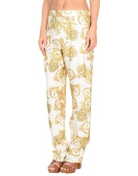 Versace Beach Shorts And Pants Ivory