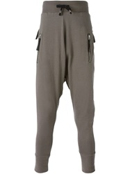Unconditional Zip Track Pants Nude And Neutrals