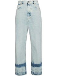 Golden Goose Deluxe Brand Bleached Kim Jeans Blue