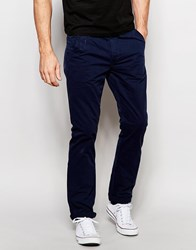 Blend Of America Blend Chinos Twister Slim Fit In Navy Navy