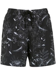 Lygia And Nanny Printed Gil Swim Shorts Black