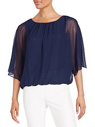 Vince Camuto Batwing Sleeve Top Sea