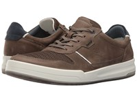 Ecco Jack Summer Sneaker Tarmac Tarmac Men's Lace Up Casual Shoes Brown