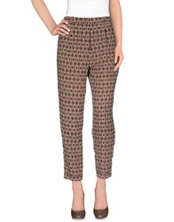 Hoss Intropia Trousers Casual Trousers Women Dark Brown