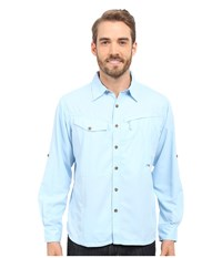 Mountain Khakis Trail Creek Long Sleeve Shirt Morning Sky Men's Clothing Blue