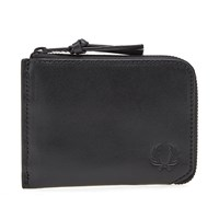 Fred Perry Contrast Zip Wallet Black