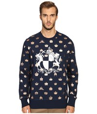 Vivienne Westwood Horse And Lion Sweatshirt Navy