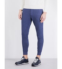 Polo Ralph Lauren Tapered Crepe Jogging Bottoms Navy Heather