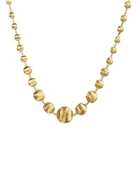 Marco Bicego Africa Collection 18K Yellow Gold Bead Necklace 17