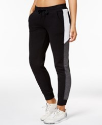 Ideology Colorblocked Jogger Pants Only At Macy's Noir