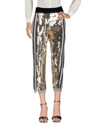 Aviu Casual Pants Gold
