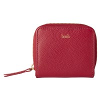 Hush Melodie Leather Purse Red