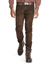 Polo Ralph Lauren Motocross Slim Fit Jeans In Freelander Brown Bloomingdale's Exclusive