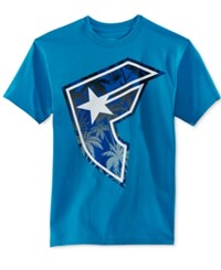 Famous Stars And Straps Famous Stars And Straps Men's Island Daze T Shirt Turquoise