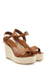 Sergio Rossi Leather Wedges
