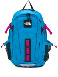 The North Face Logo Patch Backpack Blue