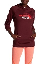 The North Face Logo Hooded Pullover Red