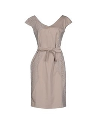 Nine Short Dresses Dove Grey