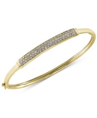 Effy Trio By Diamond Bangle Bracelet 1 Ct. T.W. In 14K White Yellow Or Rose Gold Yellow Gold