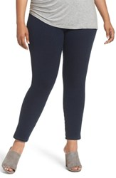Lysse Plus Size Women's Toothpick High Rise Denim Leggings Indigo