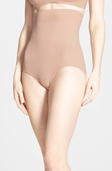 Women's Spanx 'Higher Power' High Waist Shaping Panty Soft Nude