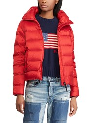 Ralph Lauren Polo Down Jacket Madison Red