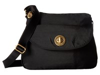 Baggallini Gold Provence Crossbody Black Cross Body Handbags
