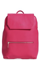 Matt And Nat 'Peltola' Vegan Leather Backpack Pink Fuchsia
