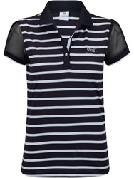Daily Sports Connie Short Sleeved Polo Shirt Black