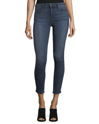 Parker Smith Ava Distressed Skinny Jeans Blue Jay