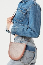 Urban Outfitters Chainmail Crossbody Bag Rose