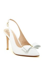 14Th And Union Patrice Slingback Pump Wide Width Available White