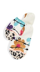 Stance Flower Power Invisible Socks Off White