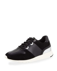 Cole Haan Grand Crosscourt Wedge Sneakers Black