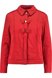 Love Moschino Bow Appliqued Shell Jacket