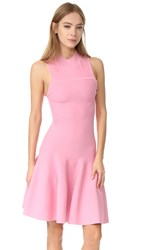 Carven Sleeveless Flared Dress Pink