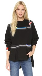 Preen Evan Sweatshirt Black Black