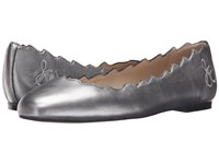 Sam Edelman Francis Pewter Soft Metallic Sheep Leather Women's Shoes