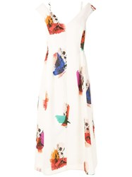 Andrea Marques Printed Flared Dress 60